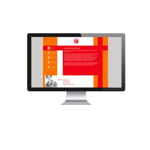 Berentsen Communicatie, website