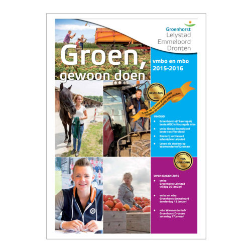 Groenhorst, krant