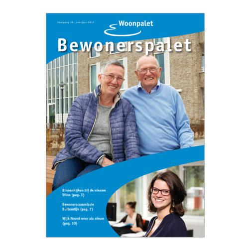 Woonpalet, bewonersmagazine van deze woningcorporatie in Zeewolde