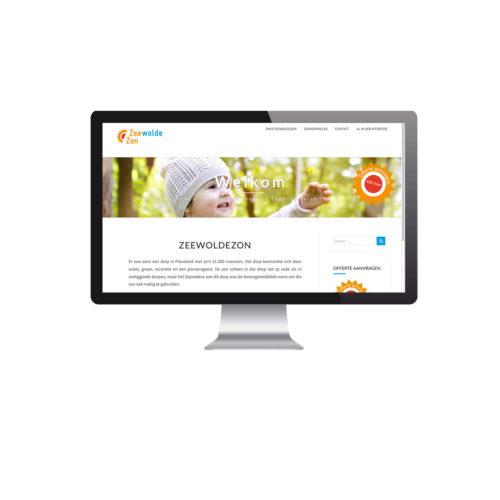 Zeewolde Zon, website