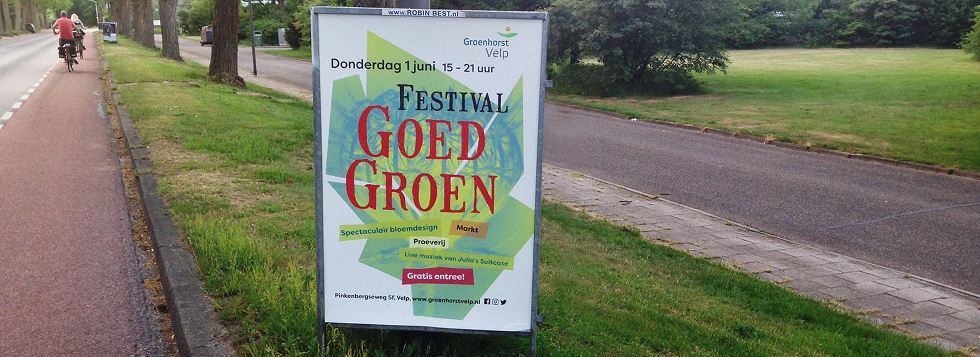 Groenhorst, festivalaffiche