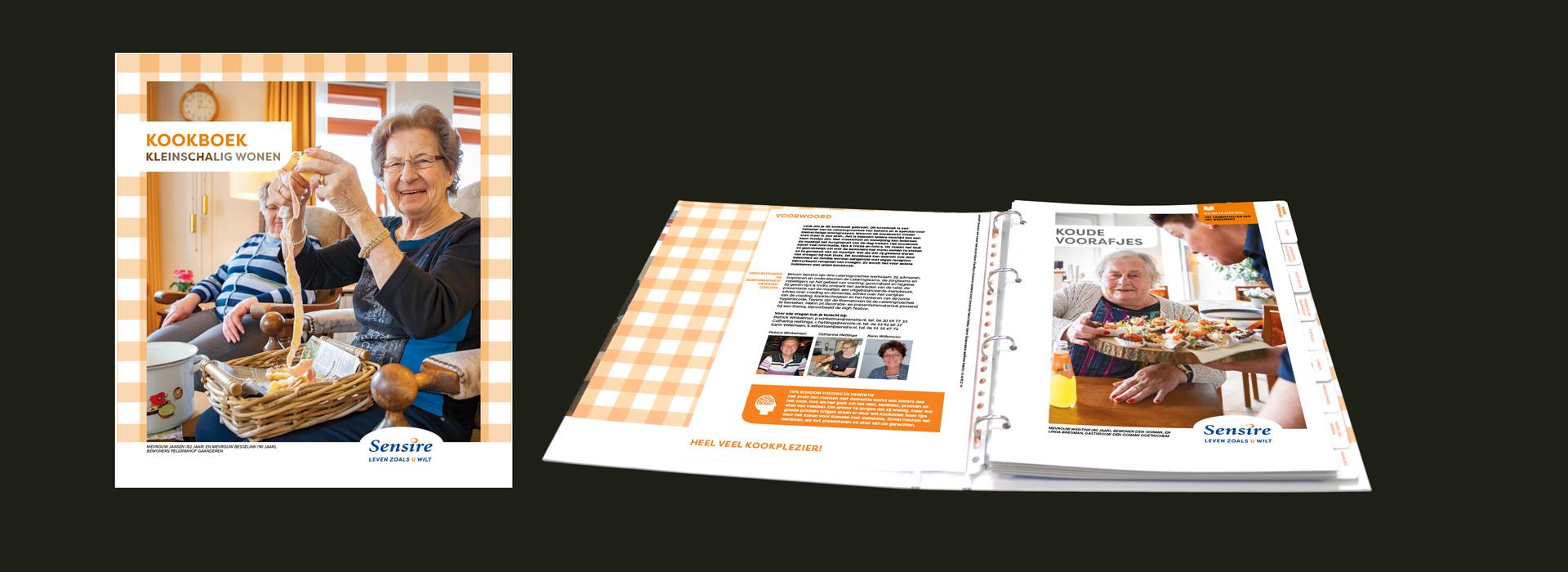 Sensire, kookboek kleinschalig wonen