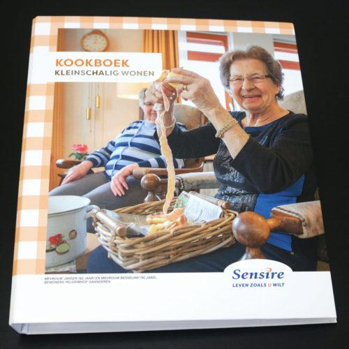 Sensire, kookboek kleinschalig wonen buitenkant
